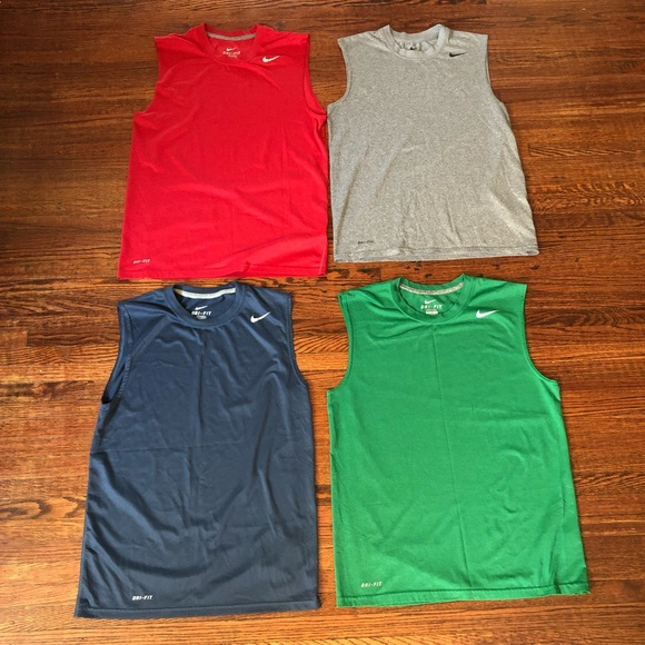 6247c68f (4) Nike Legend Poly Sleeveless Shirts Dri-Fit